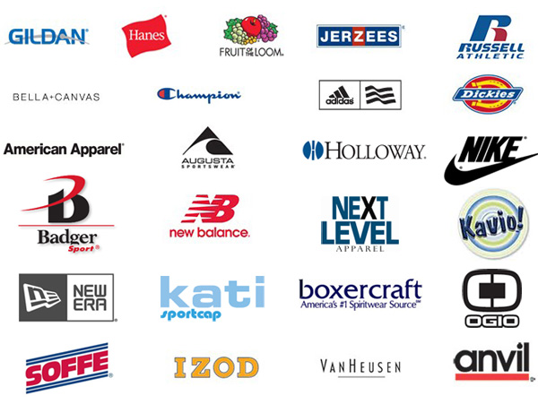 Shirt brand logo images galleries for T shirt brand name list